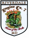 Engine Company Sticker Large